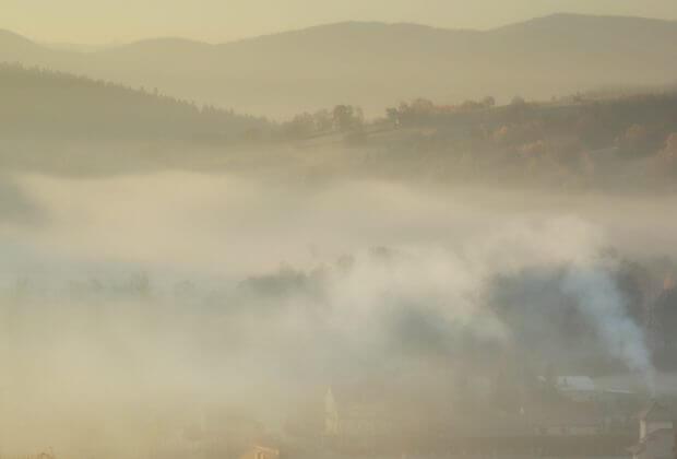 Smog na wsi. fot. MarcinBajer