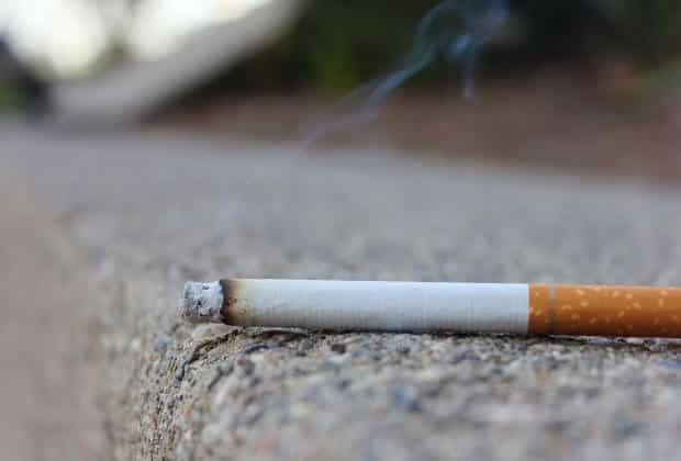 papieros dym