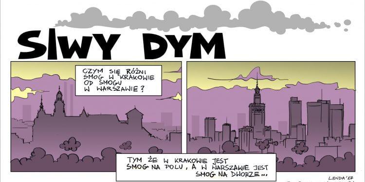 Smog w Krakowie. Smog w Warszawie.