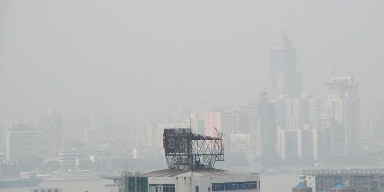 wuhan smog