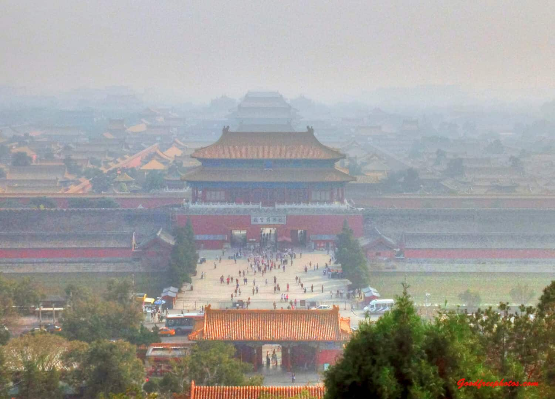 Pekin, smog. Fot. Yinan Chen