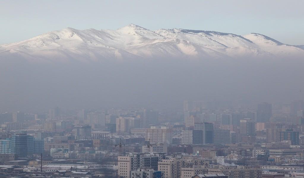 Ułan Bator Smog. Fot. Einar Fredriksen