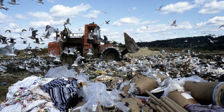 Wysypisko śmieci. Fot. United Nations Photo
