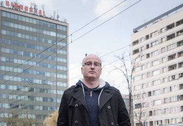 Tomasz Borejza. Fot. Jakub Włodek