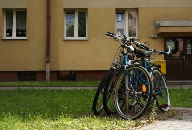 Kraków. Rowery.