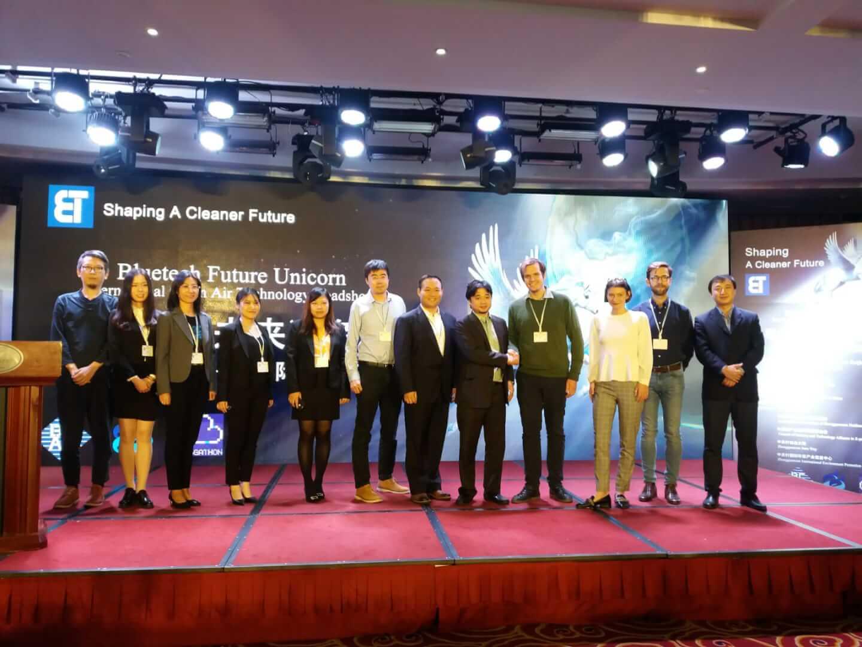 Półfinał Smogathonu 2018 w Pekinie