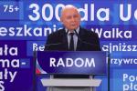 Jarosław Kaczyński w Mielcu.