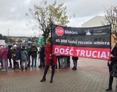 luzino marsz protest wejherowski alarm smogowy