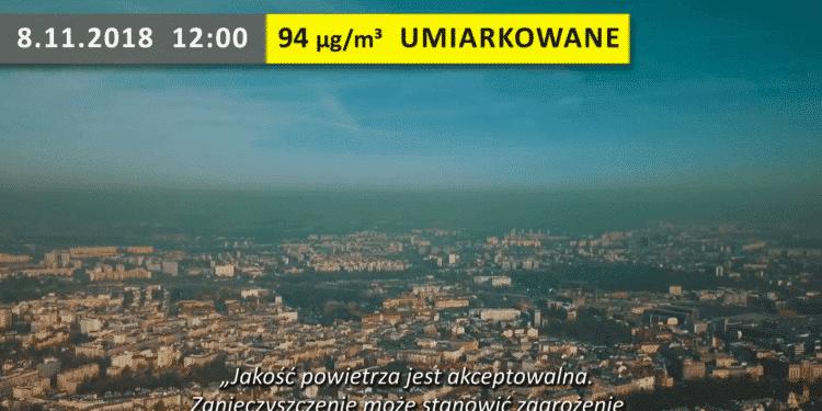 Jakość powietrza w Polsce.