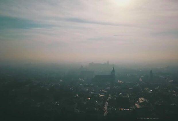 Smog w Krakowie. Fot. Tomasz Wełna