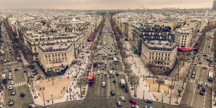 Zakaz wjazdu diesli do Paryża. Fot. Chris Chabot