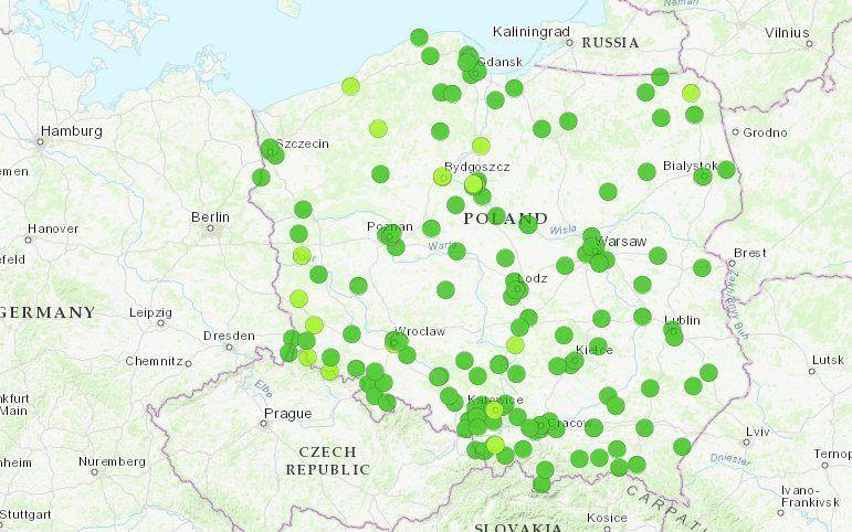 Mapa Smogu Mozemy Oddychac Gorszym Powietrzem Niz Nasz Sasiad