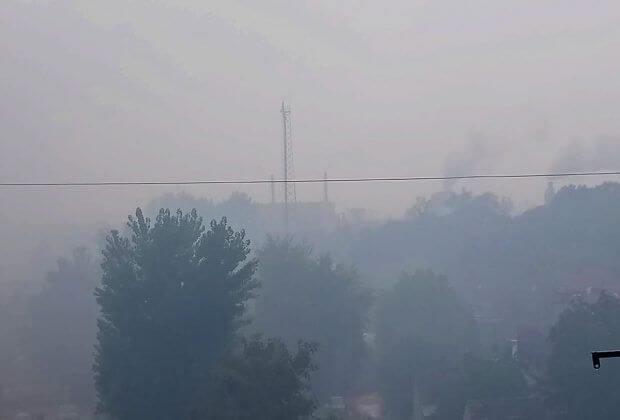 Powietrze w Żarach.