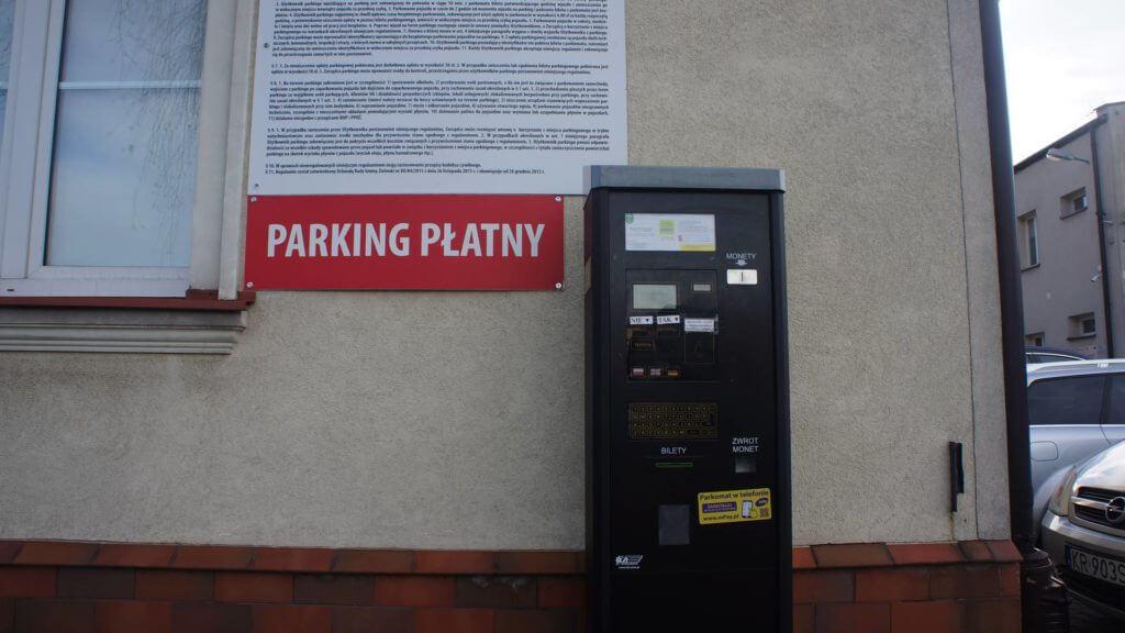 Zielonki Parking