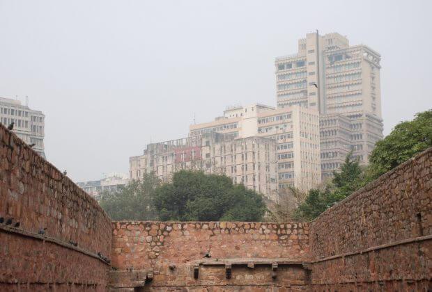 Smog w Delhi