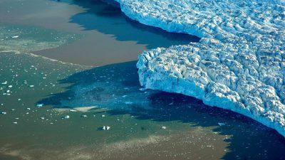 Topniejąca pokrywa lodowa Marcin Popkiewicz