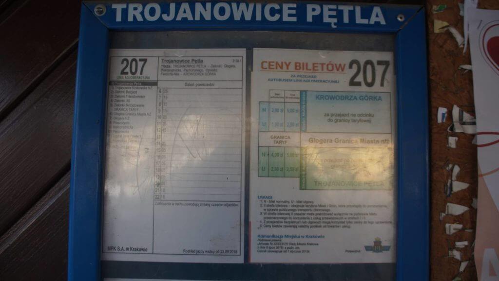 Trojanowice Autobus