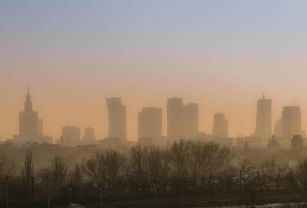 warszawa smog raport nik zanieczyszczenie powietrza europa