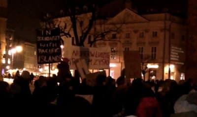 Strajk dla ziemi kraków earthstrike PL smog
