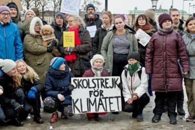 Greta Thunberg Strajk Klimat