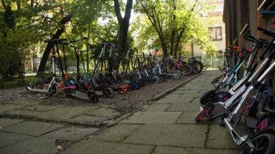 Parking szkolny