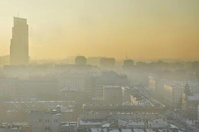 Warszawa Smog Shutterstock