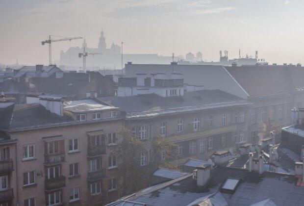 Zabierzów Kraków Smog
