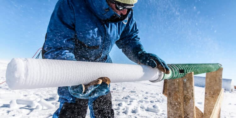 najstarszy lód antarktyda odwiert zmiany klimatu