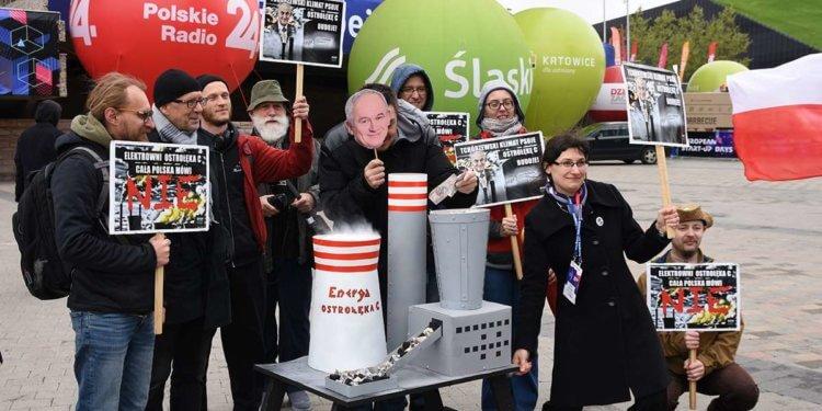 Maszynka do mielenia pieniędzy. Protest przeciw rozbudowie Ostrołęki