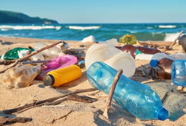 wyspy kokosowe plastik