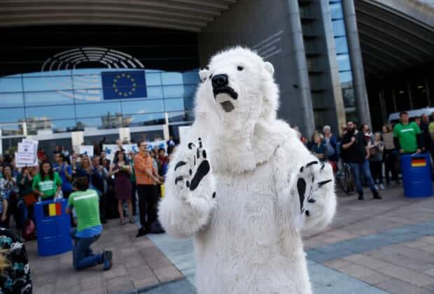 eurowybory zmiany klimatu