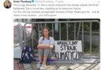 Greta Thunberg Inga to prawdziwa bohaterka, która jest niewyobrażalnie hejtowana. Wspierajcie ją