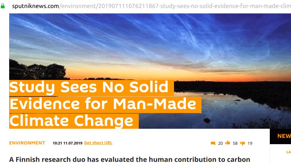 Sputnik Zmiana Klimatu
