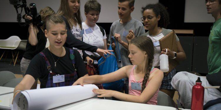 Młodzież walcząca o klimat spotkała się w Szwajcarii. Wśród nich Młodzieżowy Strajk Klimatyczny