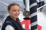Manhattan! Greta Thunberg dopłynęła do Nowego Jorku rejs Thunberg strajk dla klimatu szwedka