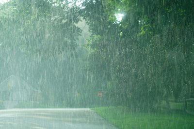Deszcz plastik