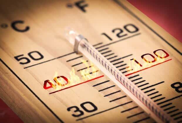 lipiec rekord temperatury