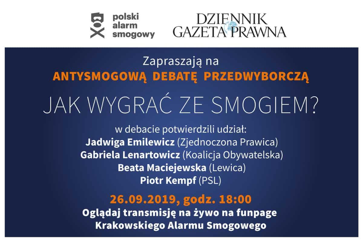 Debata smog wybory