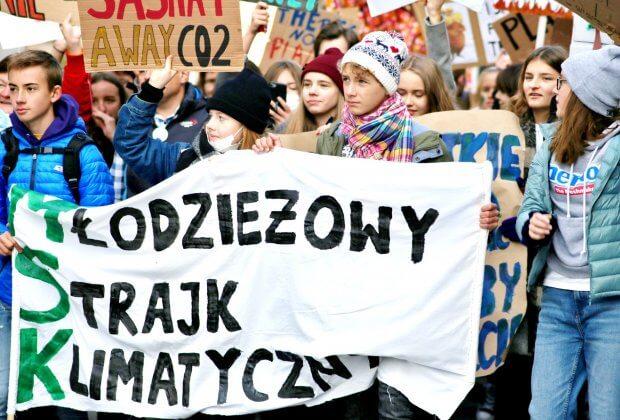 Młodzieżowy Strajk Klimatyczny Henryk Kowalczyk