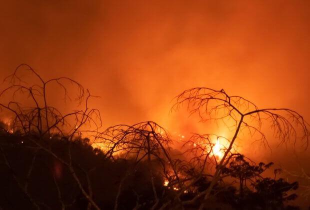 Pożary Amazonia Wrzesień