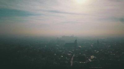 Kraków Smog Wełna