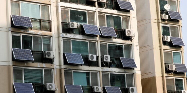 Seul Panele Słoneczne Każdy Budynek