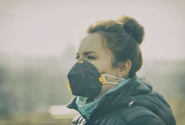 maska antysmogowa koronawirus