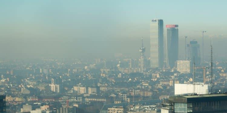 Mediolan smog