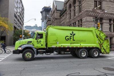 Toronto Śmieciarki Paliwo