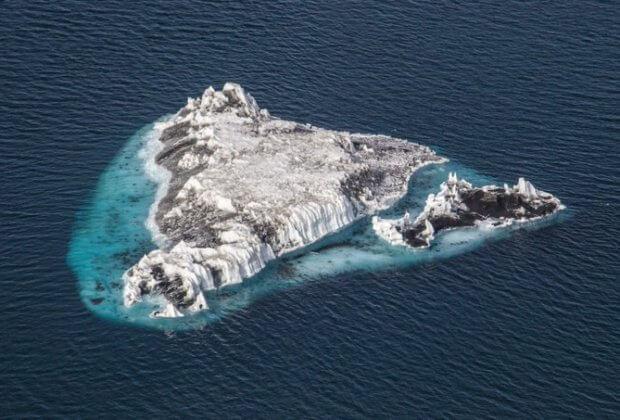 wyspa sif topniejące lodowce
