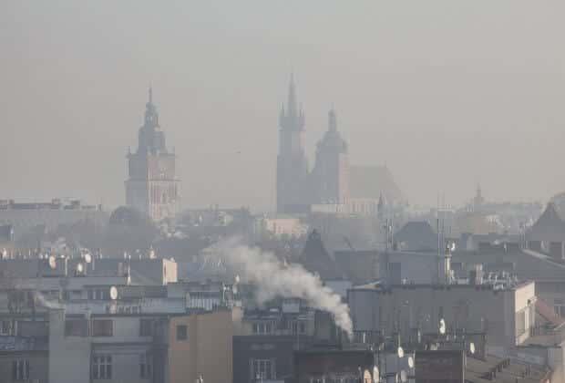 kraków smog aplikacja