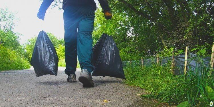 zbiórka śmieci zakrzówek