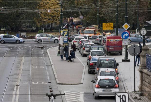 Zakaz wjazdu Diesli do Krakowa w 2020 roku.