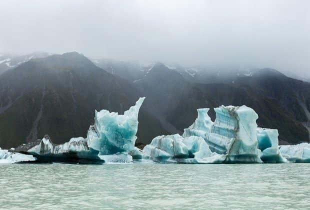 Nowa Zelandia lodowce